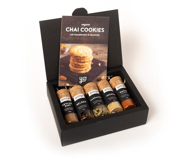 "Gewürzbox ""Chai Cookies"""